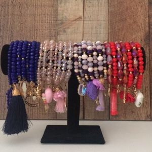 Jewelry - Set of seven bracelets * ONE DAY SALE *